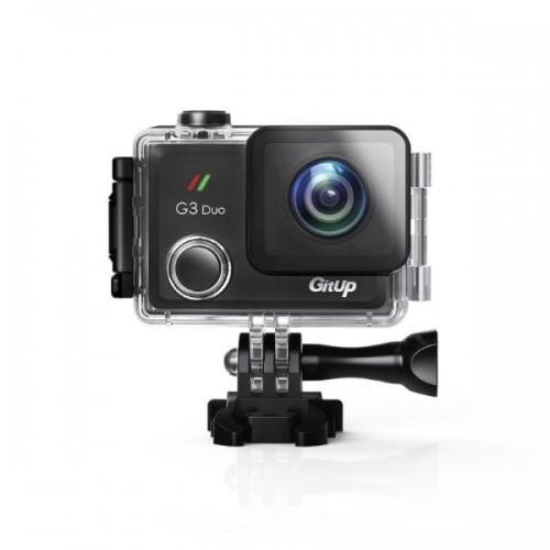 "GitUP G3 Duo - Pro Packing - Action Camera (2"" touchscreen-2K-Wifi)"