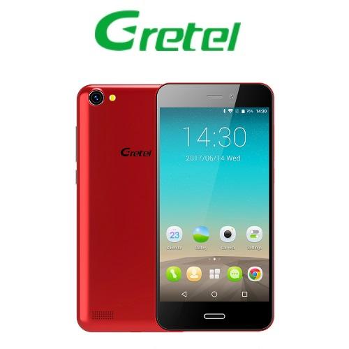 Gretel A7 (4,7''/3G/4πύρηνο/Gorilla Glass3/1GB-16GB) Κόκκινο