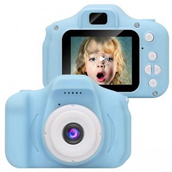HD Μίνι Ψηφιακή Παιδική Φωτογραφική Μηχανή (Μπλε) 170321