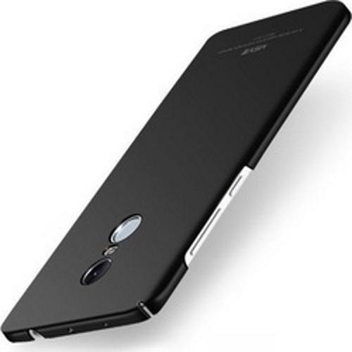 MSVII Ματ Backcover Θήκη (Xiaomi Redmi Note 4X) (Snapdragon) (Μαύρη)