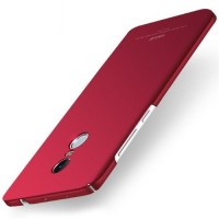 MSVII Ματ Backcover Θήκη (Xiaomi Redmi Note 4) (Mediatek) (Simple Red)