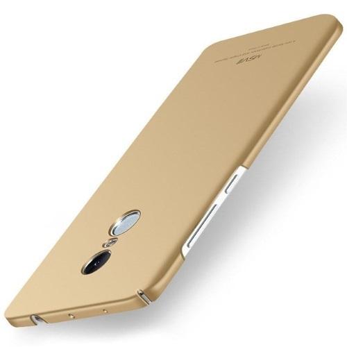 MSVII Ματ Backcover Θήκη (Xiaomi Redmi Note 4X) (Snapdragon) (Simple Golden)