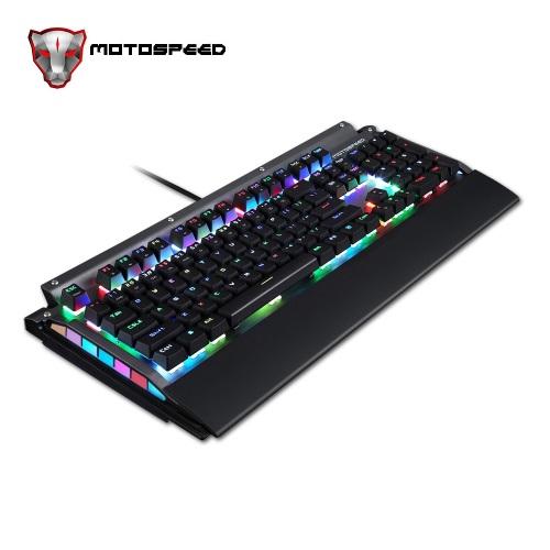 Motospeed CK98 Full RGB USB Wired Mechanical Gaming Keyboard - Alias K98