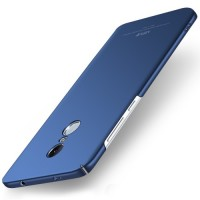 MSVII Ματ Backcover Θήκη (Xiaomi Redmi Note 4) (Mediatek) (Simple Blue)