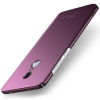 MSVII Ματ Backcover Θήκη (Xiaomi Redmi Note 4) (Mediatek) (Simple Purple)