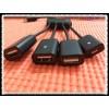 OTG Micro USB Hub 4 σε 1 για Tablets/Smartphones