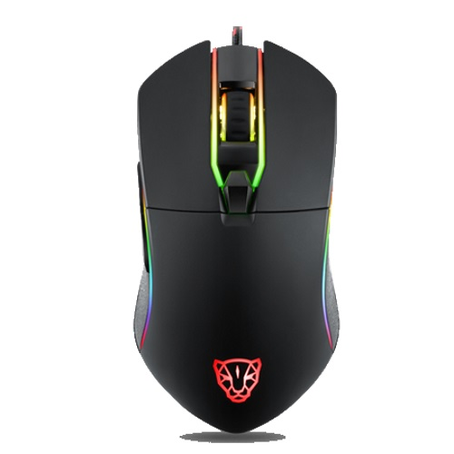 Motospeed V30 RGB Backlight Gaming Mouse (Optical Gaming/Wired/3500dpi/6 Πλήκτρα) (BLACK)