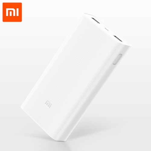 XiaoMi Power Bank 20000mAh V.2 Quick Charge PLM05ZM - Φορητή Μπαταρία