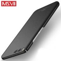 MSVII Ματ Backcover Θήκη (Xiaomi Mi 6) (Ζαγρέ Μαύρο)