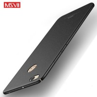 MSVII Ματ Backcover Θήκη (Xiaomi Redmi Note 5A PRO) (Ζαγρέ Μαύρο)
