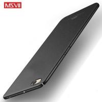 MSVII Ματ Backcover Θήκη (Xiaomi Redmi Note 5A) (Ζαγρέ Μαύρο)