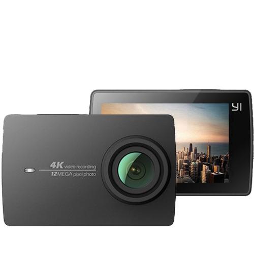 Yi 2 - EU Edition - 4K 12MP WIFI Action Cam(Μαύρη)