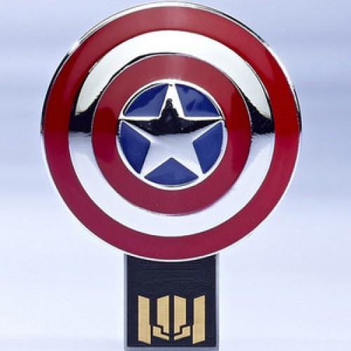 Marvel Captain America USB Flash Drive 8GB