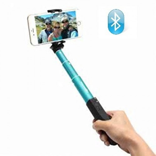 BlitzWolf BW-BS1 Bluetooth Μίνι Πτυσσόμενο Selfie Stick για Smartphone/Action Cam - Sky Blue