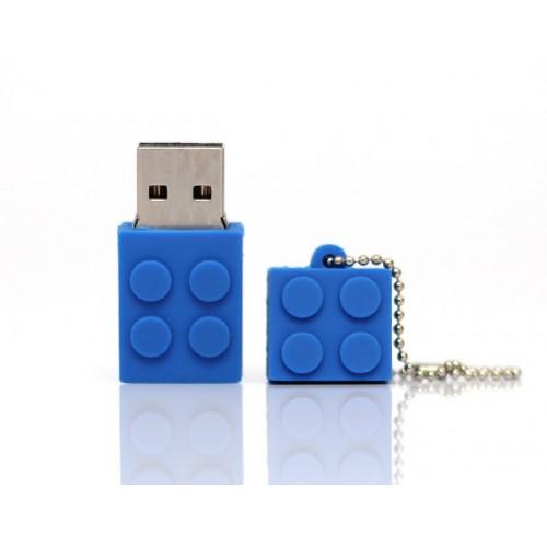 Lego Brick USB Drive 8GB(μπλε)