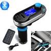 Victop OEM MP3 FM Car Transmitter(2XUSB/mSD/AUX/BT)(Silver)