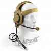 WoSport HD-04 Outdoor Hunting Headset (Jack Nato για intercom) (Χακί)