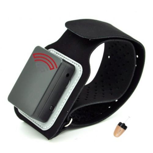 Armband Bluetooth με Spy Ακουστικό Ψείρα (Περιβραχιόνιο)
