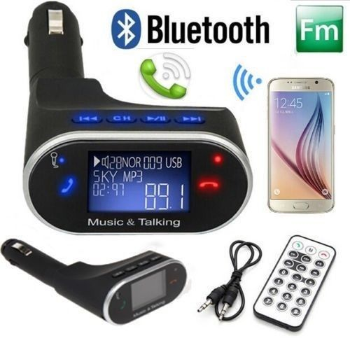 FlyHigh OEM FM MP3 BT Car Transmitter(BT/AUX/mSD/USB)
