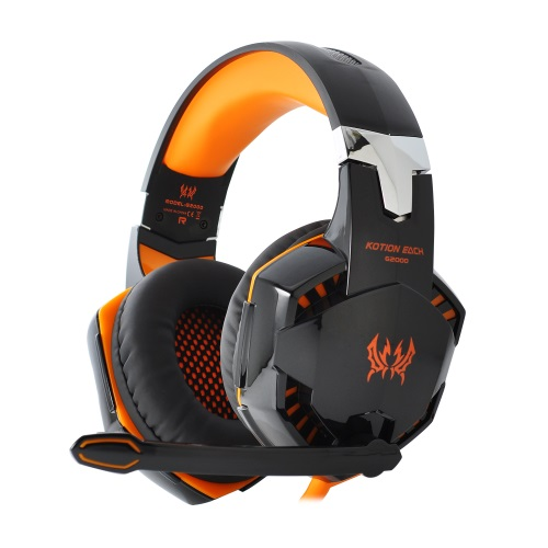 KOTION EACH G2000 USB Gaming Headset - Πορτοκαλί
