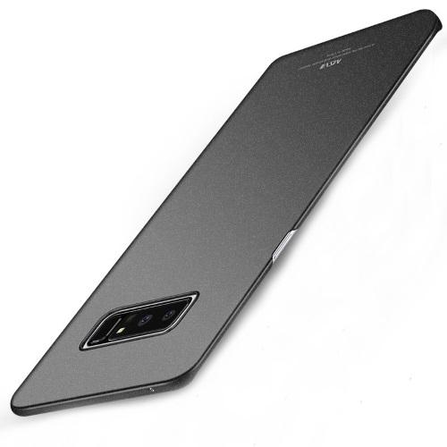 MSVII Ματ Backcover Θήκη (Samsung Galaxy Note 8) (Ζαγρέ Μαύρο)