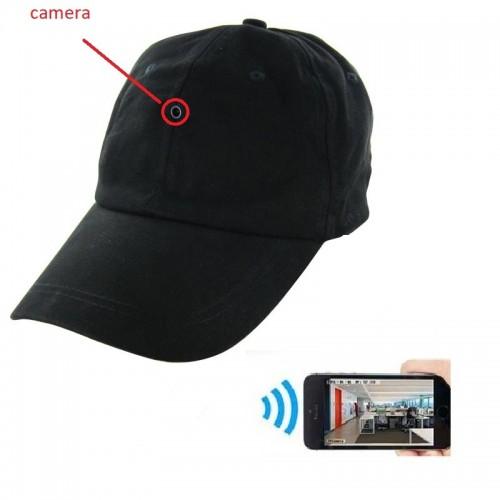 Spy WiFi Κρυφή Κάμερα Μέσα Σε Καπέλο 5MP