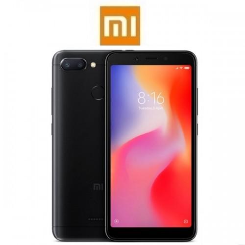 """XIAOMI Redmi 6 EU (5.45""""/4G/8πύρηνο/3GB-32GB) Μαύρο (Ακουστικά δώρο)"""