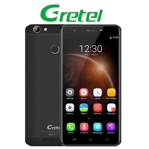 Gretel A6 (5,5''/4G/4πύρηνο/Gorilla Glass3/2GB-16GB) Μαύρο