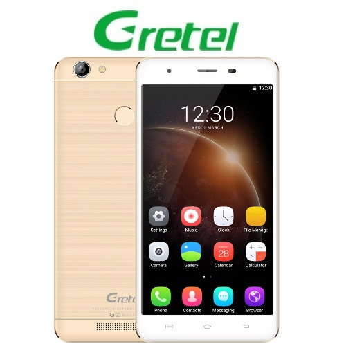 Gretel A6 (5,5''/4G/4πύρηνο/Gorilla Glass3/2GB-16GB) Χρυσό