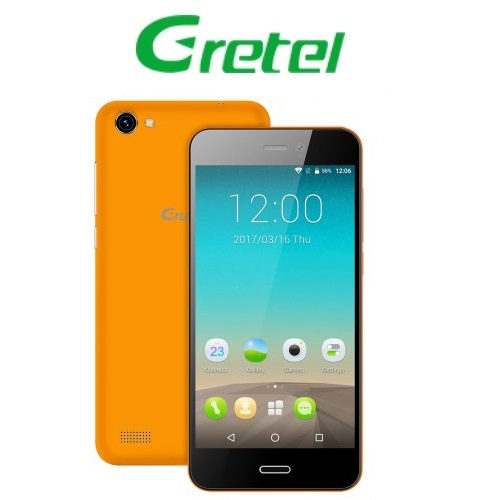Gretel A7 (4,7''/3G/4πύρηνο/Gorilla Glass3/1GB-16GB) Πορτοκαλί