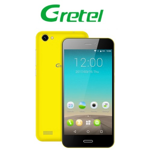 Gretel A7 (4,7''/3G/4πύρηνο/Gorilla Glass3/1GB-16GB) Κίτρινο