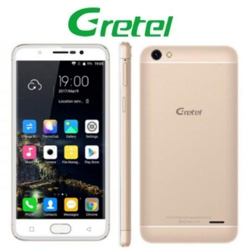 Gretel A9 (5''/4G/4πύρηνο/Fingerprint/2GB-16GB) Χρυσό