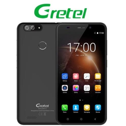Gretel S55 (5,5''/3G/4πύρηνο/1GB-16GB/Dual Cam) Μαύρο