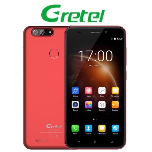 Gretel S55 (5,5''/3G/4πύρηνο/1GB-16GB/Dual Cam) Κόκκινο