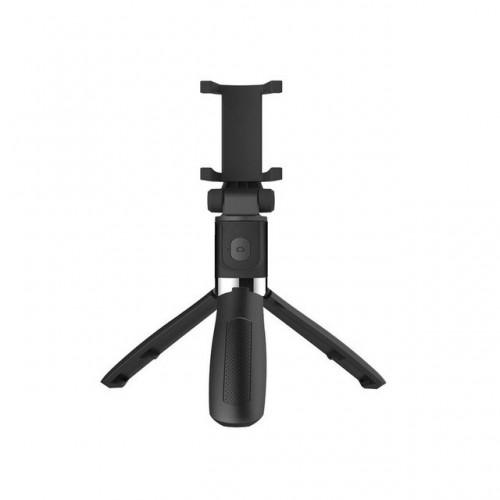 OEM-L01 Πτυσσόμενο Bluetooth Tripod Selfie Stick με Χειριστήριο - Μαύρο
