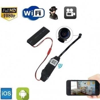 OEM WiFi IP Micro Module SD DVR Spy Cam