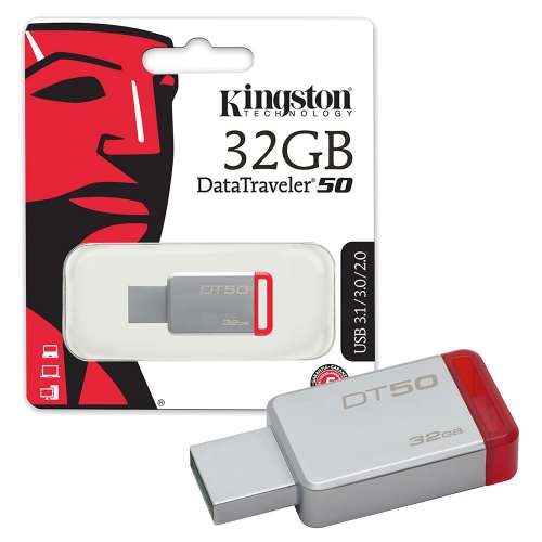 Kingston DataTraveler 50 USB 3.0 Drive 32GB | DT50/32GB