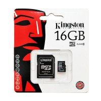 Micro SD Class 10 Kingston 16GB+Adapter SDC10