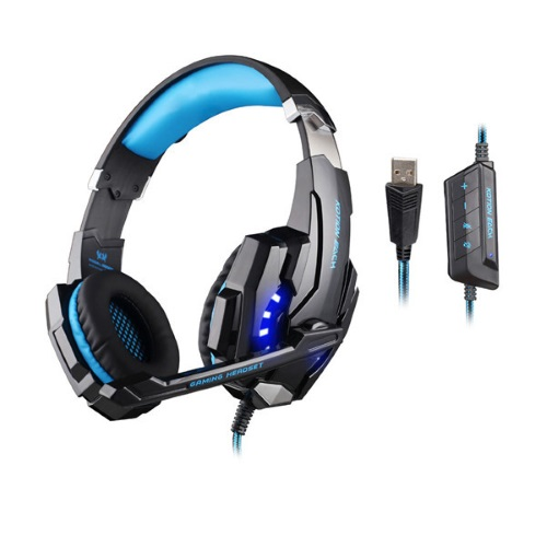 KOTION EACH G9000 USB 7.1 Gaming Headphone Headset Earphone (PC/PS4) - Μπλε/Μαύρο