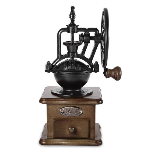 ΟΕΜ Vintage Ξύλινος Μύλος Καφέ με Κεραμικό Πυρήνα Λείανσης