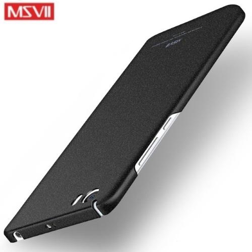 MSVII Ματ Backcover Θήκη (Xiaomi Mi 5) (Ζαγρέ Μαύρο)