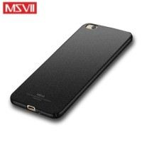 MSVII Ματ Backcover Θήκη (Xiaomi Mi 5c) (Ζαγρέ Μαύρο)
