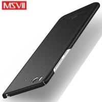 MSVII Ματ Backcover Θήκη (Xiaomi Mi 5S) (Ζαγρέ Μαύρο)