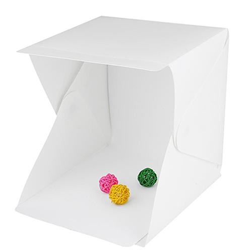 Μίνι φωτογραφικό αναδιπλούμενο στούντιο με LED Lightbox mini photo studio OEM (20 x 20 x 20 εκ.)