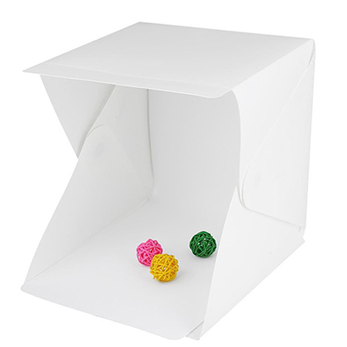 Mini Photo Studio με LED Φωτισμό OEM (20 x 20 x 20 εκ.)