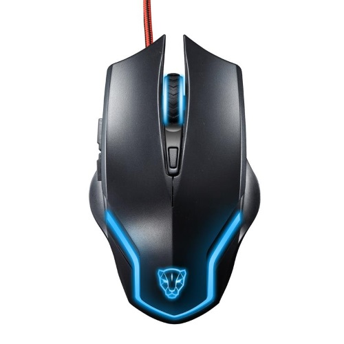 Motospeed Leopard F61 Mouse (Optical Gaming/Wired/2000dpi/6 Πλήκτρα)(BLACK)