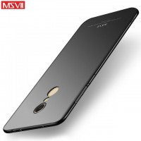 MSVII Ματ Backcover Θήκη (Xiaomi Redmi 5 Plus) (Μαύρο)