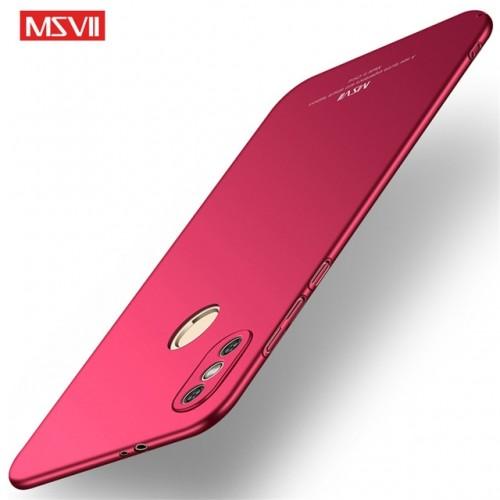 MSVII Ματ Backcover Θήκη (Xiaomi Redmi Note 5) (Κοκκινο)