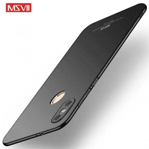 MSVII Ματ Backcover Θήκη (Xiaomi Redmi Note 5) (Μαύρο)