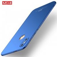 MSVII Ματ Backcover Θήκη (Xiaomi Redmi Note 5 ) (Μπλε)